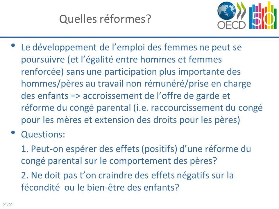 21/20 Quelles réformes.