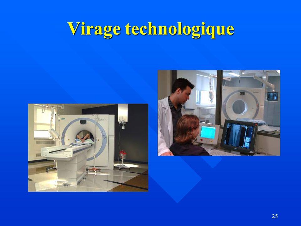 25 Virage technologique