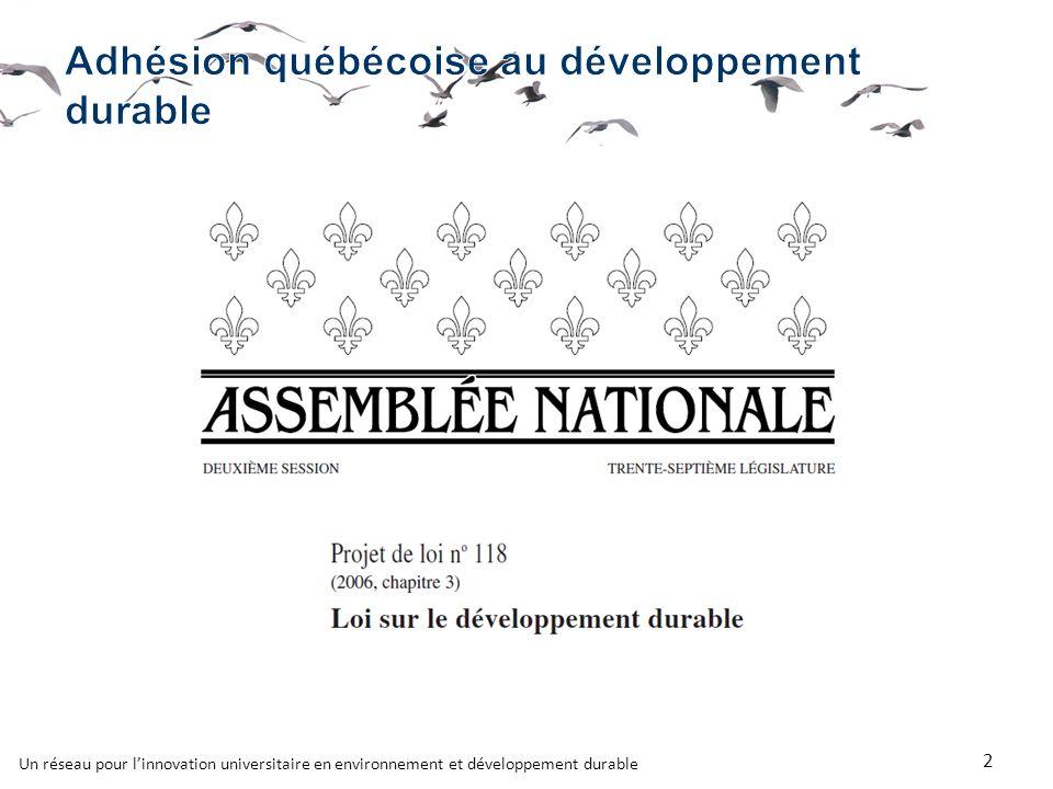 Un réseau pour linnovation universitaire en environnement et développement durable 2