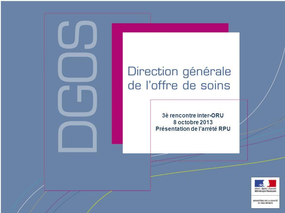 Direction générale de la Santé Lancement par la DGS dun projet pour : -Procéder à un état des lieux des dispositifs au niveau national permettant dapprécier létat de loffre de soins dans le cadre de tensions dans lorganisation des soins (suivi, pilotage).