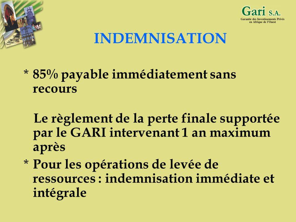24 MONNAIE D OPERATION Monnaie de la garantie CFA ou autre = Monnaie du financement Remboursement dans la monnaie du financement