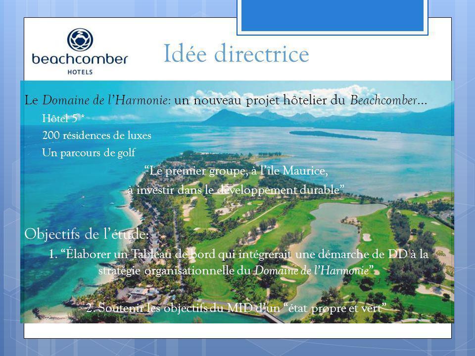 Le Domaine de lHarmonie: un nouveau projet hôtelier du Beachcomber … - Hôtel 5 * - 200 résidences de luxes - Un parcours de golf Le premier groupe, à