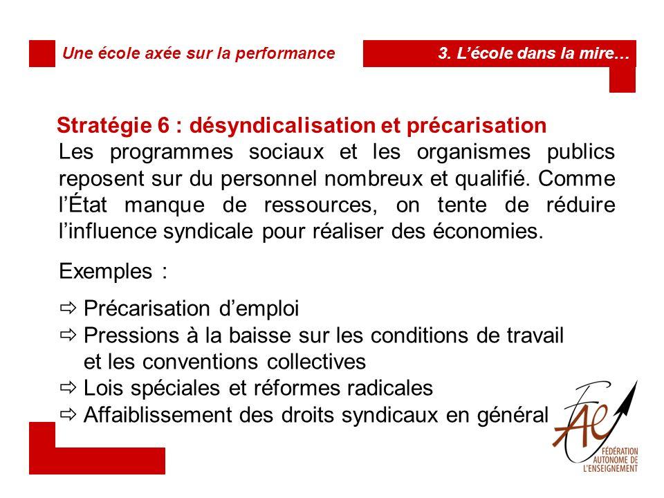 Stratégie 7 : la décentralisation Afin de délester la structure centrale quest lÉtat de certains « fardeaux bureaucratiques » et décisions, on transfert vers les unités locales ou régionales un certain nombre de prérogatives, responsabilités, pouvoirs.