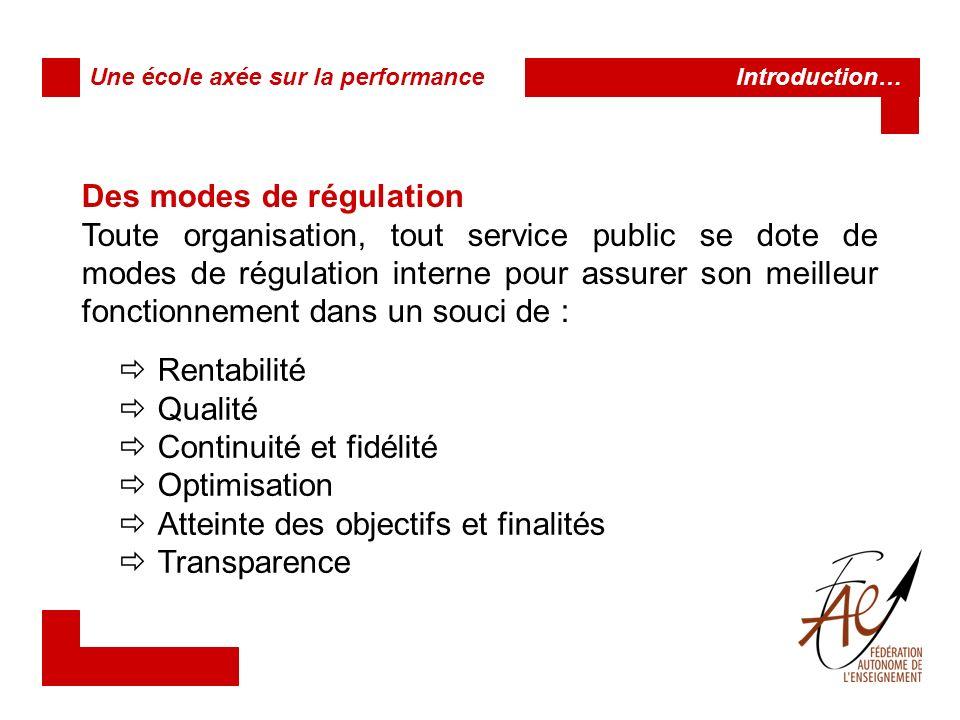 Des instruments au service dune vision En somme, les mécanismes mobilisés pour cette régulation se présentent principalement comme des instruments administratifs.