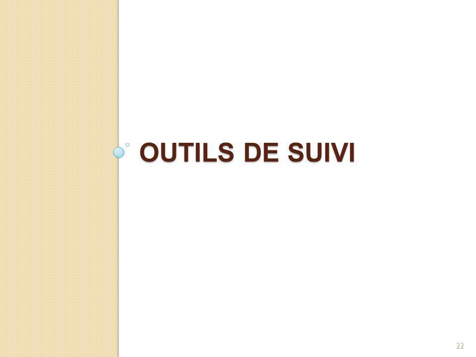 OUTILS DE SUIVI 22