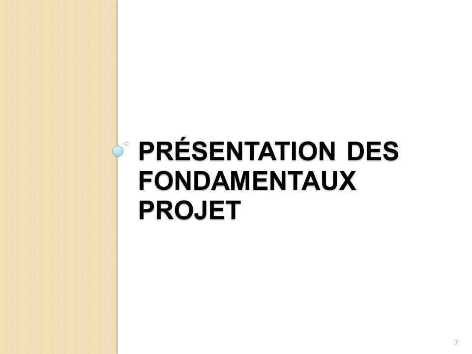 PRÉSENTATION DES FONDAMENTAUX PROJET 7