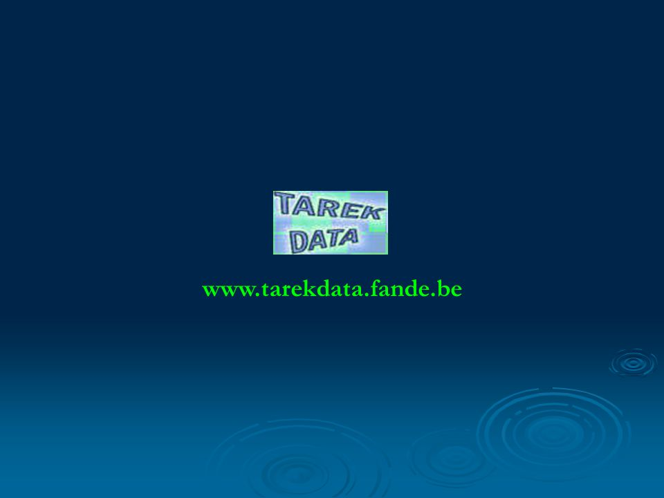 www.tarekdata.fande.be