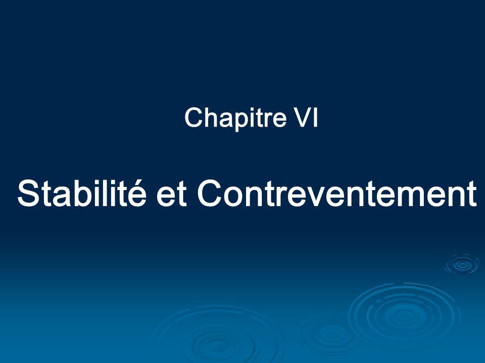 Chapitre VI Stabilité et Contreventement