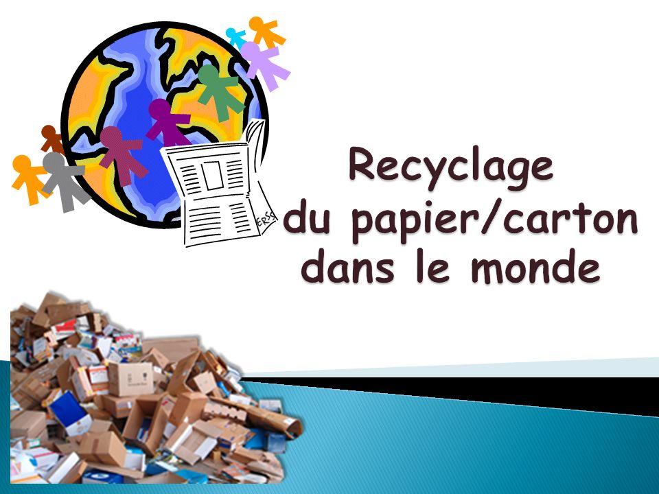 Source : COPACEL (COnfédération française de lindustrie des PApiers, Cartons et cELluloses)
