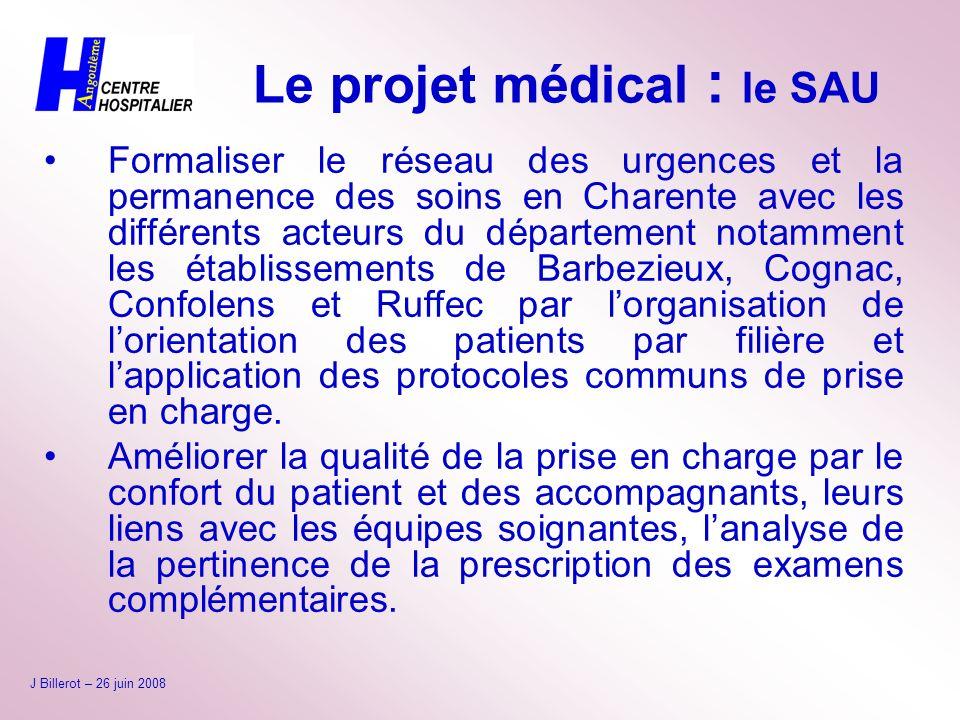 Formaliser le réseau des urgences et la permanence des soins en Charente avec les différents acteurs du département notamment les établissements de Ba