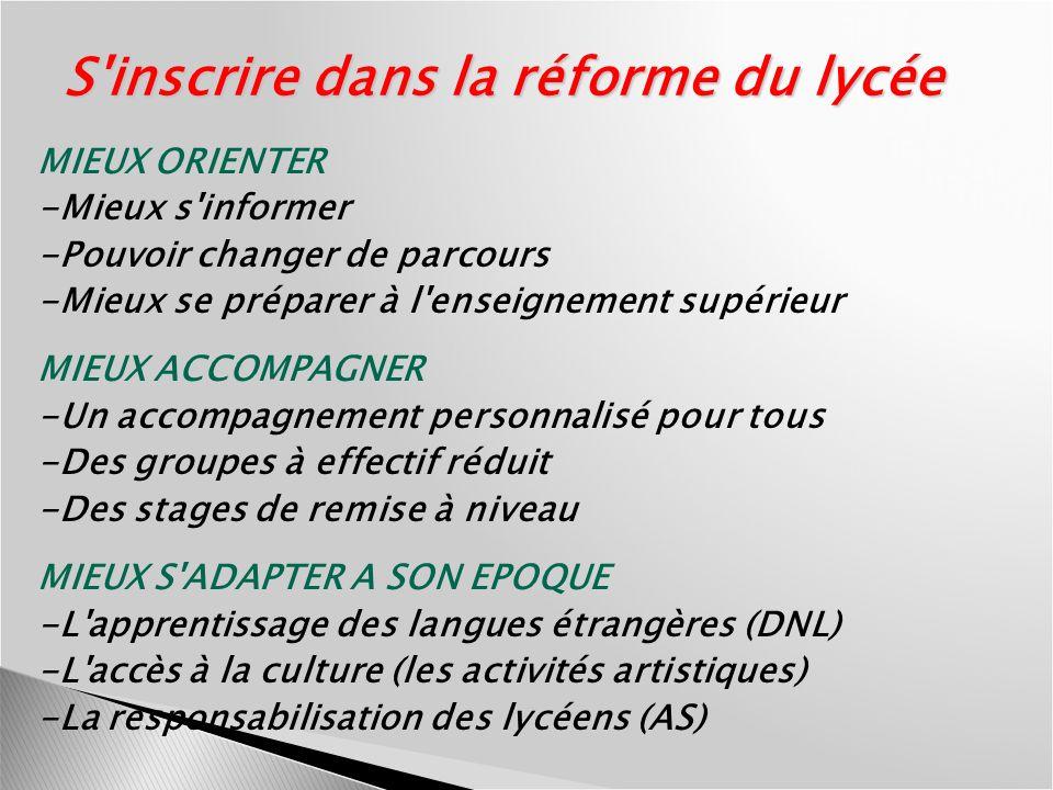 Le cadre disciplinaire ou matrice des programmes 1.