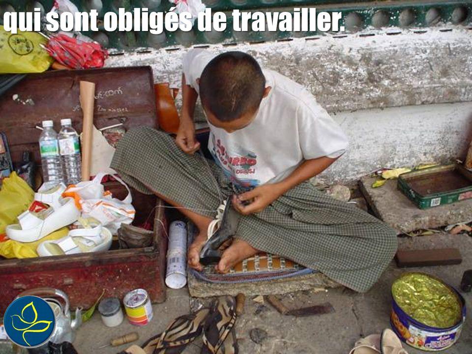 les enfants qui ne vont pas à lécole, La pauvreté, cest lanalphabétisme :