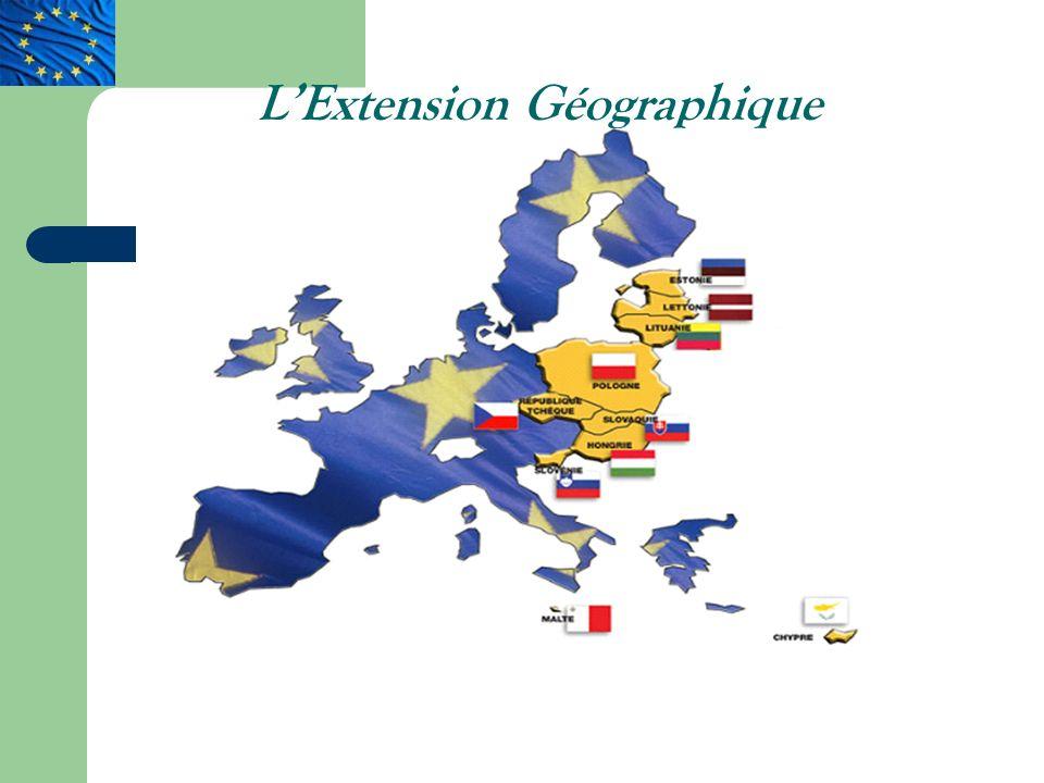 LExtension Géographique