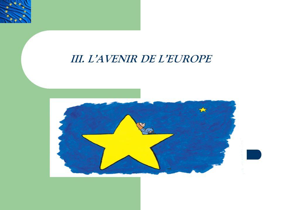 III. LAVENIR DE LEUROPE