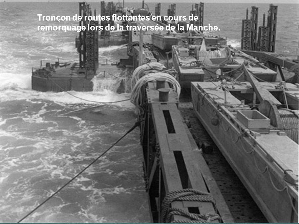 Le port est constitué de routes flottantes et de plates-formes de déchargement qui montent et descendent avec la marée. « Puisque nous ne disposerons