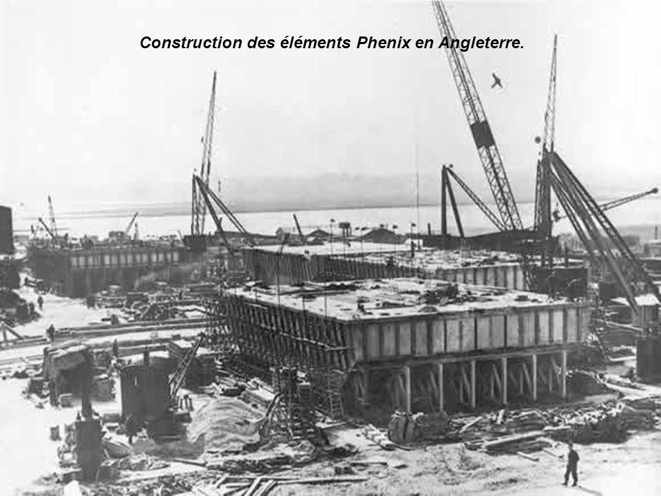 Churchill n'avait pas attendu le résultat du raid de Dieppe pour envisager des solutions parallèles à la capture d'un port pour ravitailler les troupe