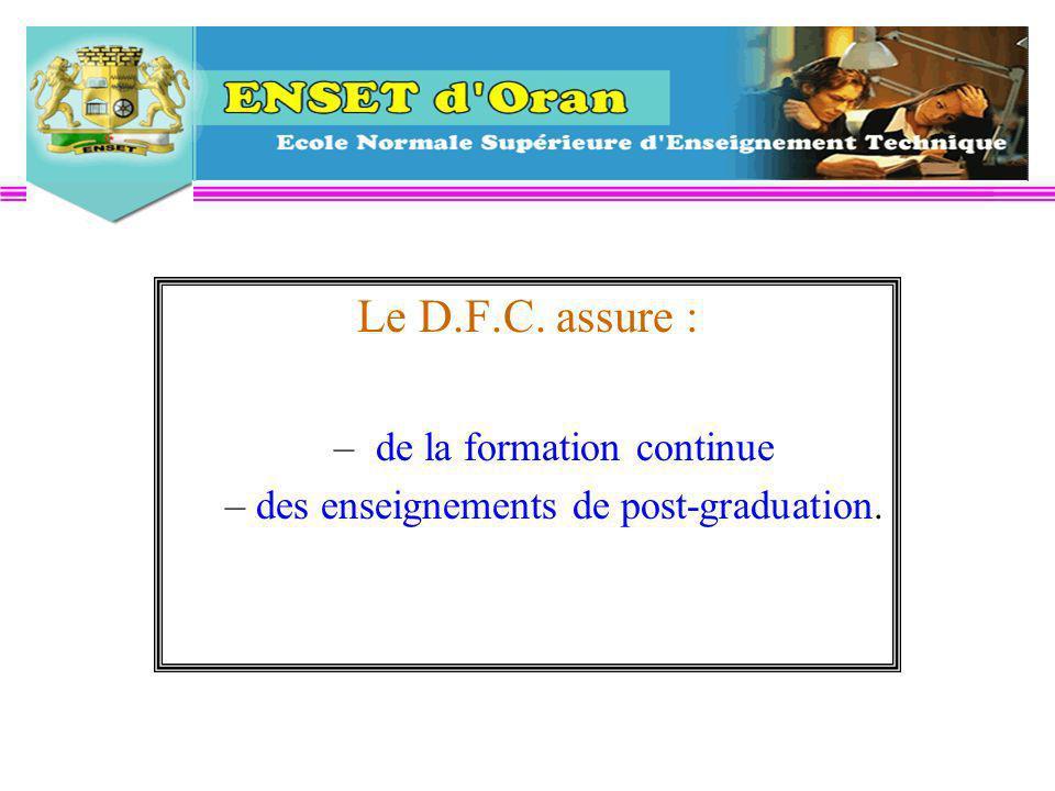 Les candidats doivent néanmoins : - être porteurs d un projet de formation, - se préparer à enseigner la discipline en langue française - être des « facilitateurs linguistiques »