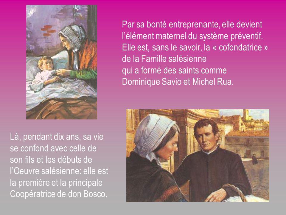 Elle accompagne avec une affection toute particulière son fils Jean jusquau sacerdoce; plus tard, elle abandonne la petite maison, tant aimée, des Bec