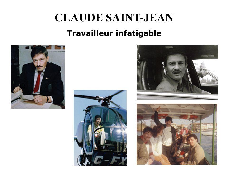 CLAUDE SAINT-JEAN Travailleur infatigable