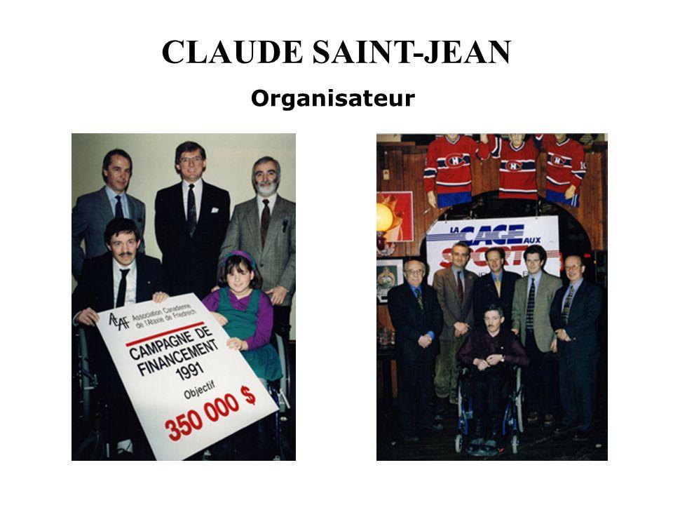 CLAUDE SAINT-JEAN Organisateur