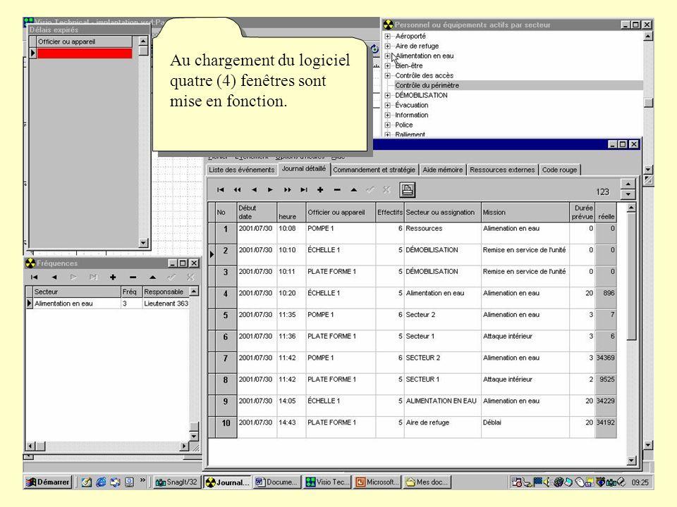 La fenêtre « journal détaillé» permet de consigné vos ordres et de constituer le journal de bord.