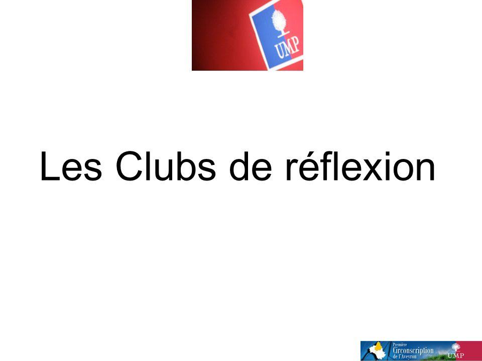Les Clubs de réflexion
