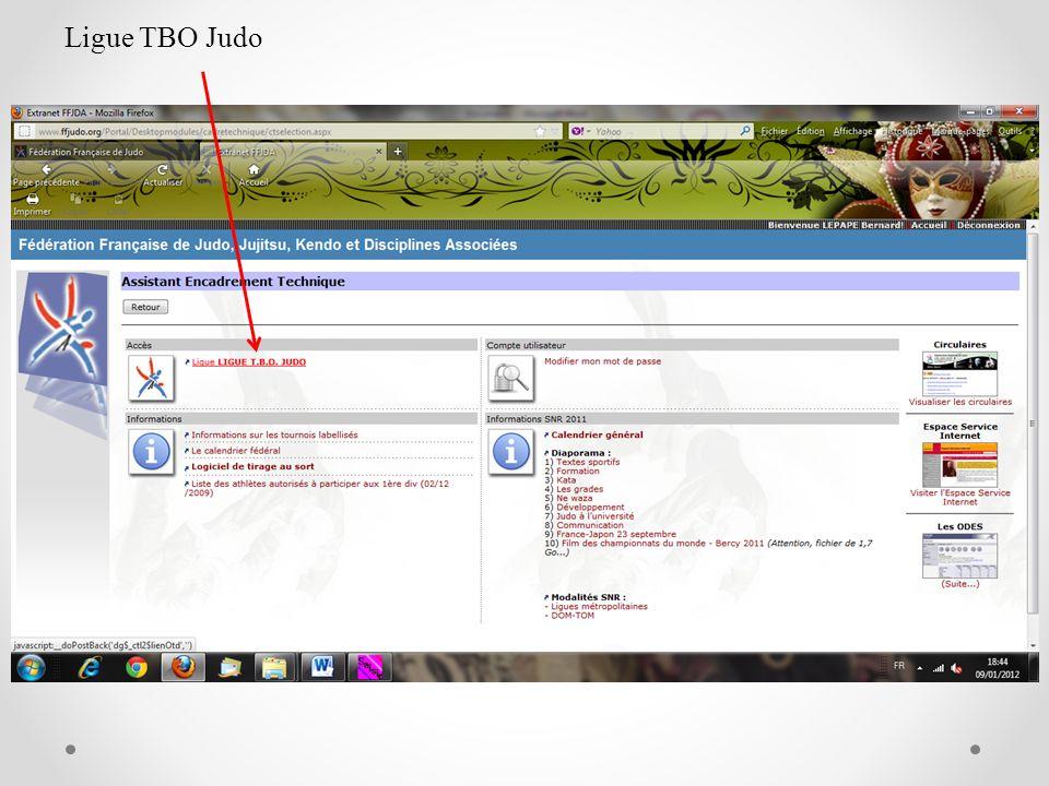 Ligue TBO Judo