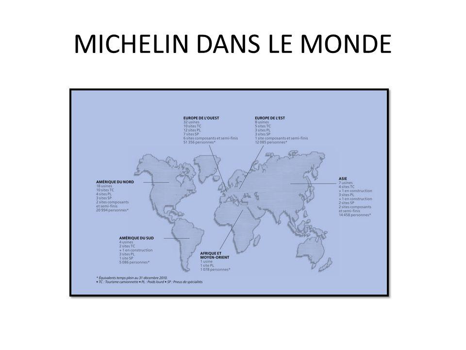 MICHELIN DANS LE MONDE