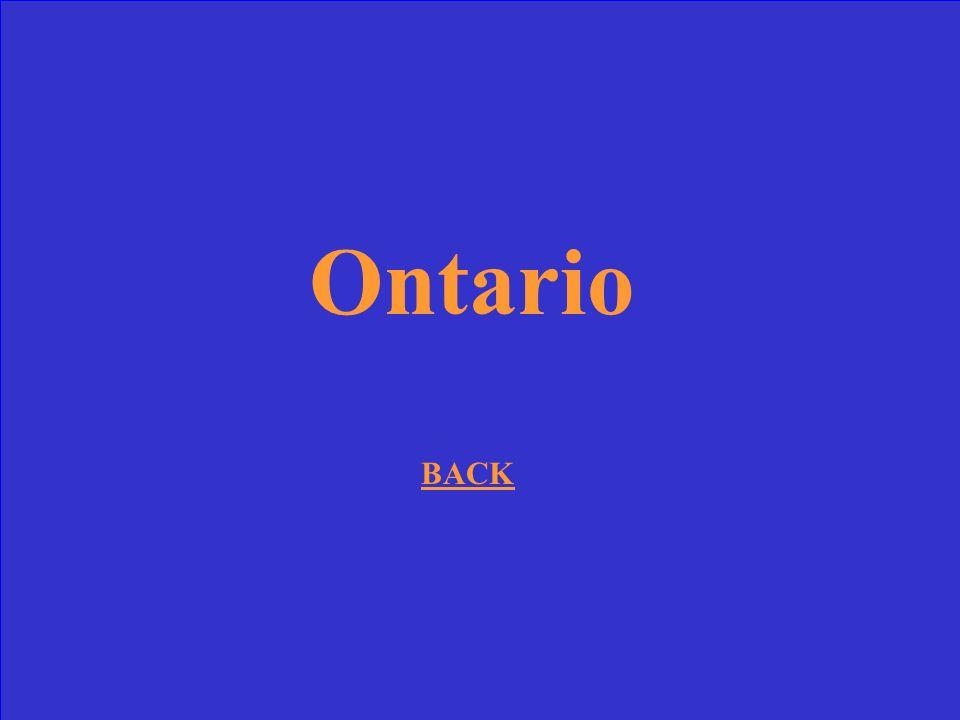 La Haut-Canada est quelle province actuelle?