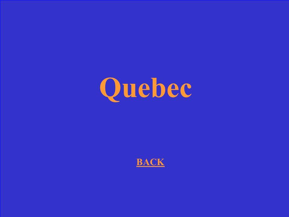 Quebec BACK