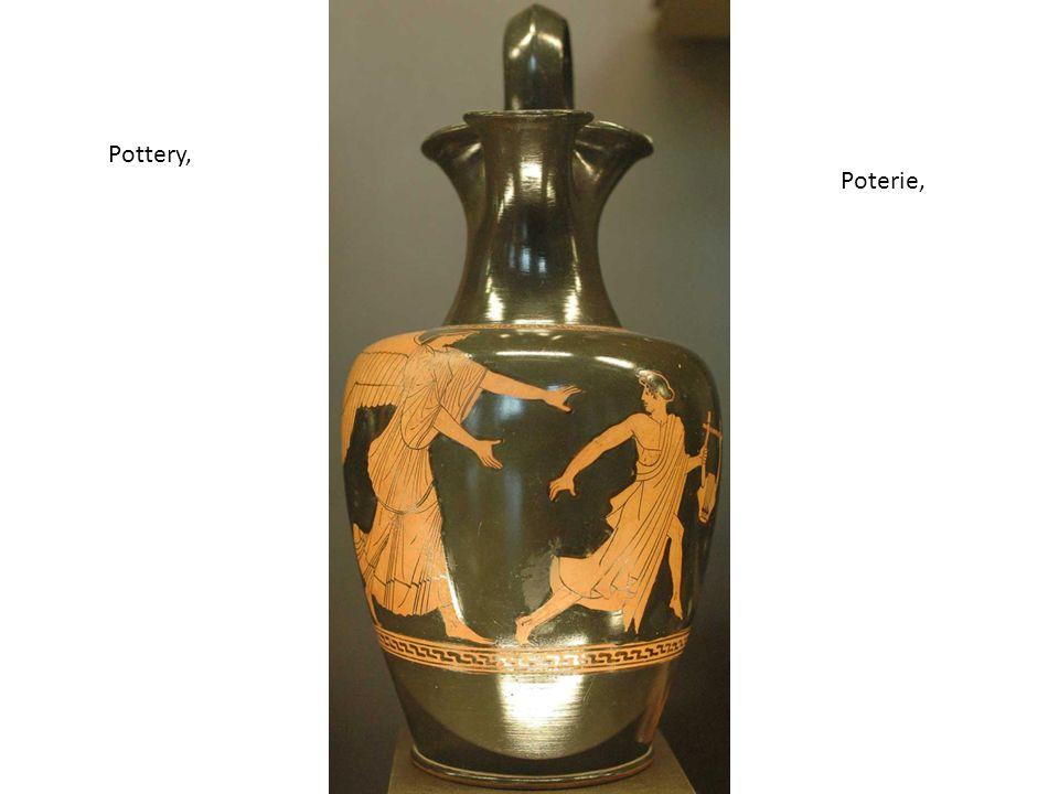 Pottery, Poterie,