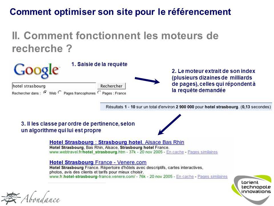Comment optimiser son site pour le référencement II.
