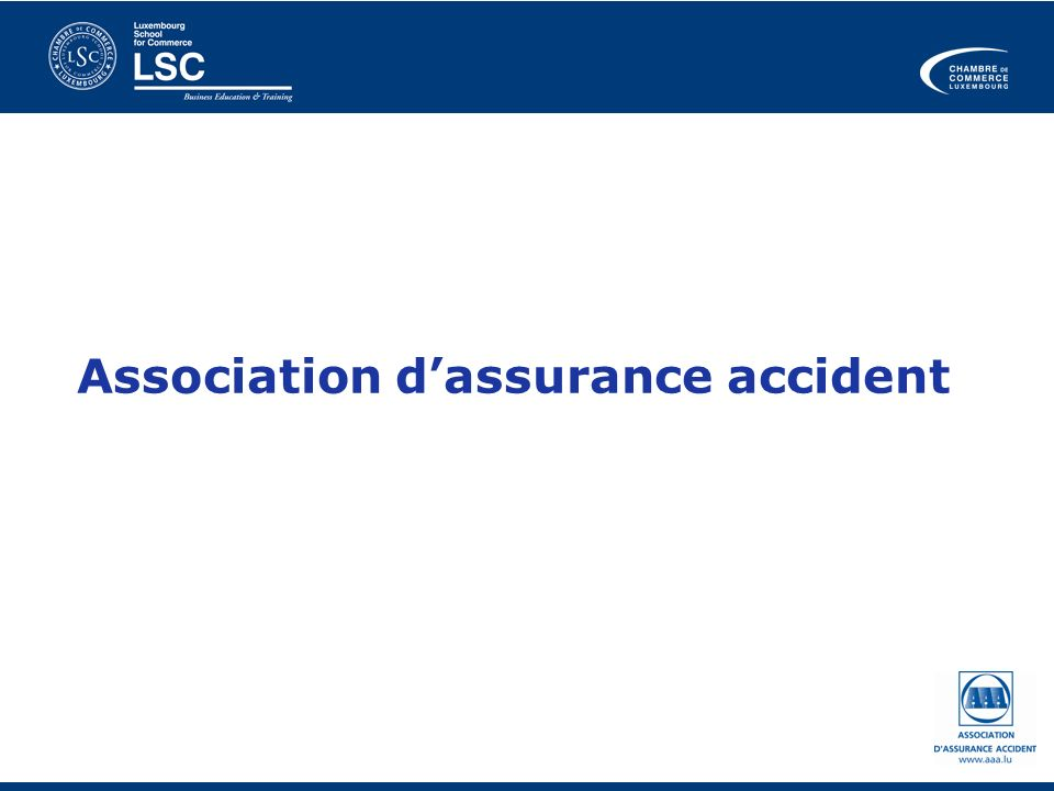 Association dassurance accident