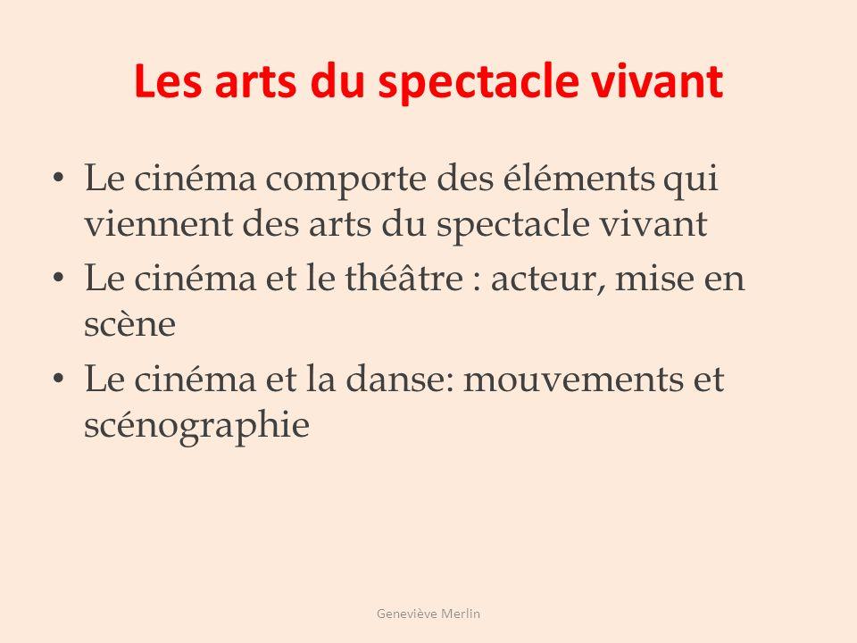Les arts du son Le cinéma est un art du son Voix Bruits Musique Le cinéma muet est un art sourd mais qui met en scène la parole Geneviève Merlin