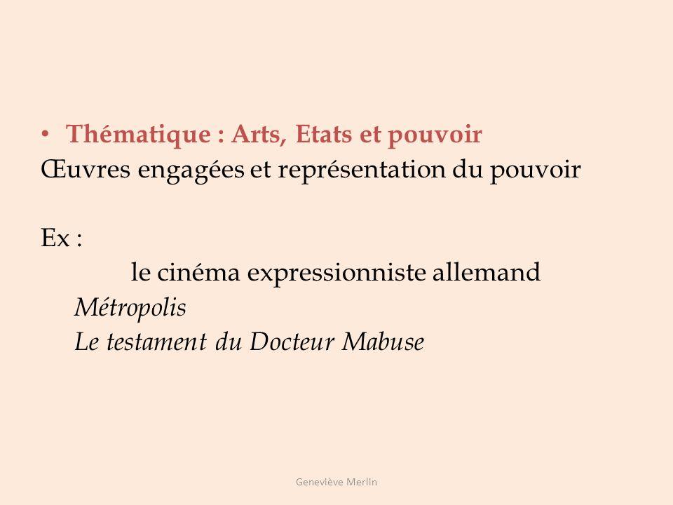 Thématique : Arts, espace et temps Lœuvre dart et lévocation du temps et de lespace: Les road movies Geneviève Merlin