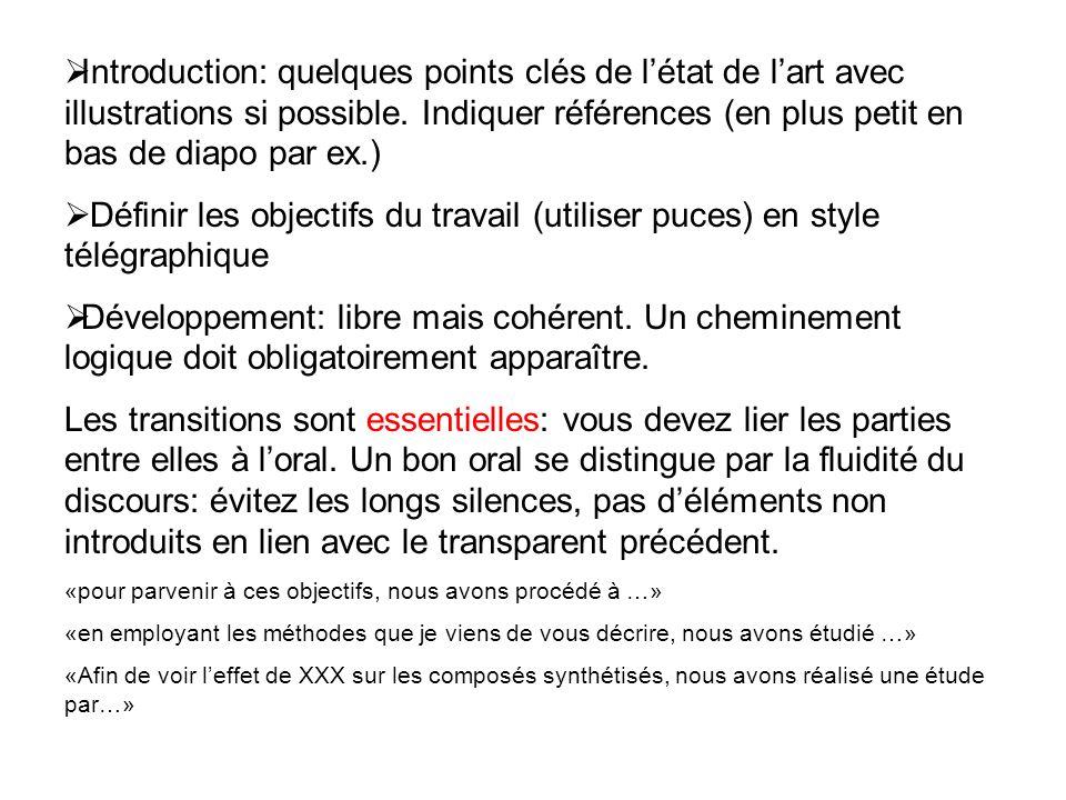 Introduction: quelques points clés de létat de lart avec illustrations si possible.