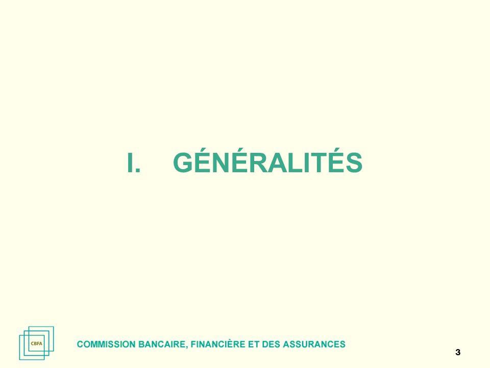 I.GÉNÉRALITÉS 3