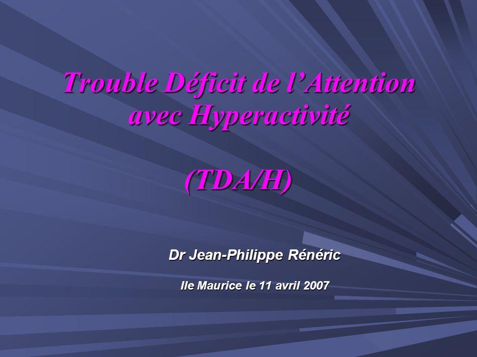 Psychostimulants et TDA/H: Bradley 1937 Methylphenidate: Synthèse 1944 4008 publications internationales France: AMM 1995