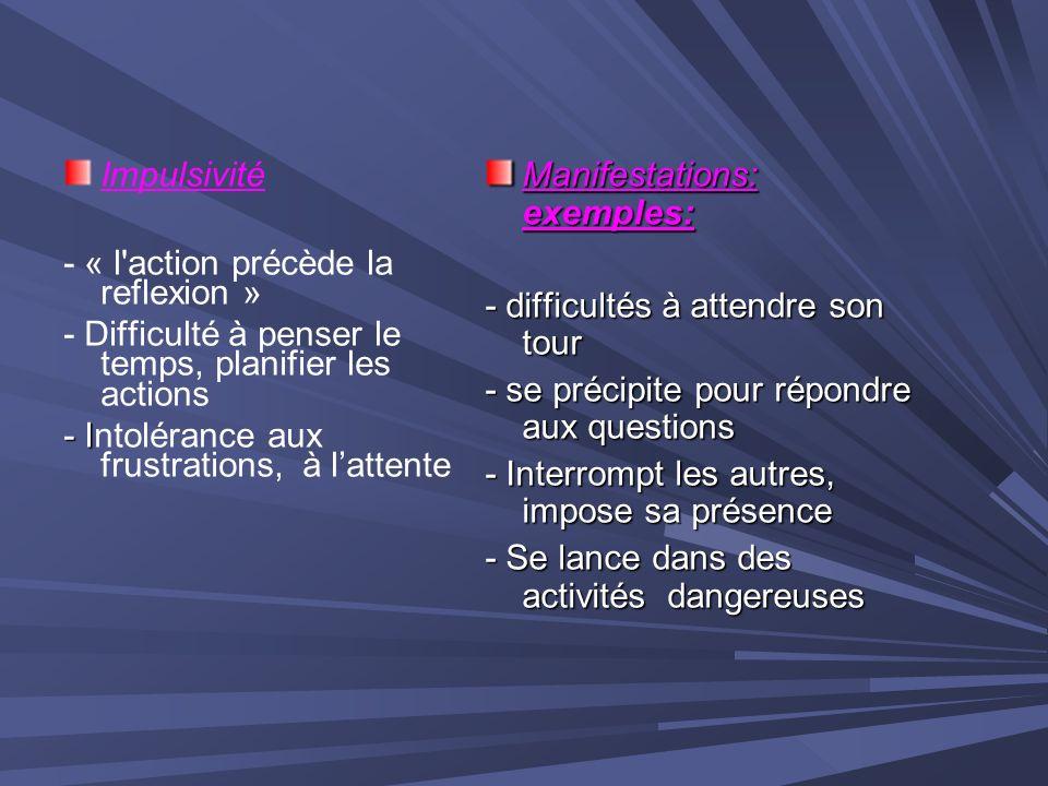 INDUCTION OU EXACERBATION DE TICS ( .