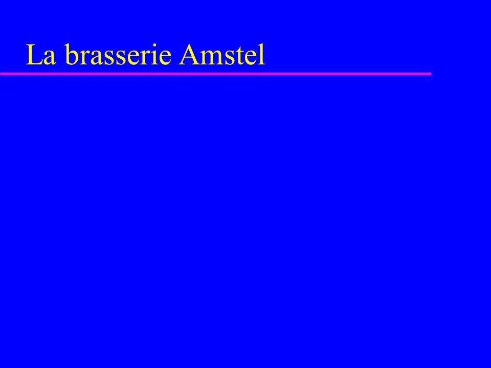 La brasserie Amstel