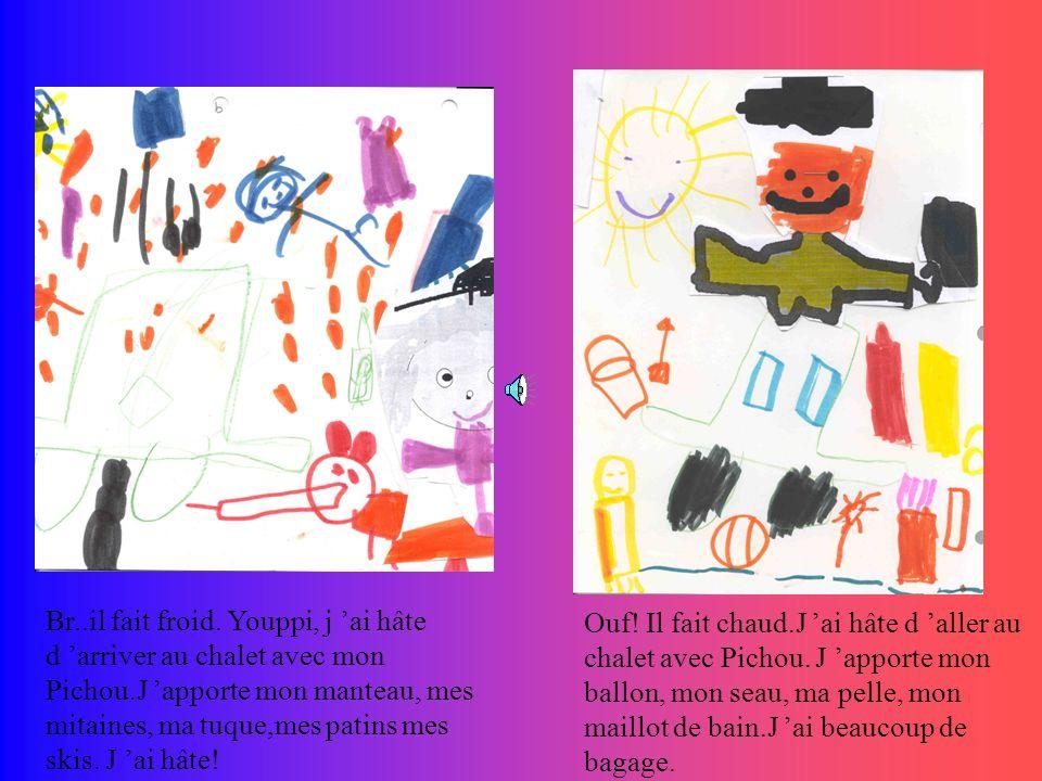 LES AVENTURES DE JIJI ET PICHOU par la classe de Francine