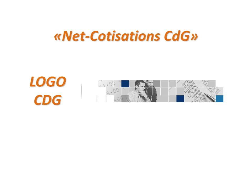 «Net-Cotisations CdG» LOGO CDG