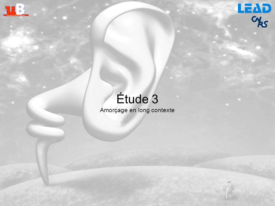 Étude 2 - Discussion Médiation langagière : entendre un son active son label linguistique Homogénéité des populations de sons Un son unique nest peut-