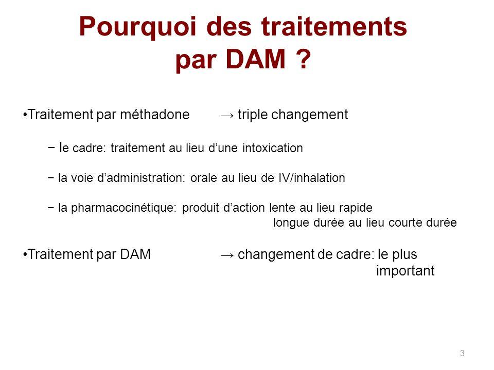 Pourquoi des traitements par DAM .