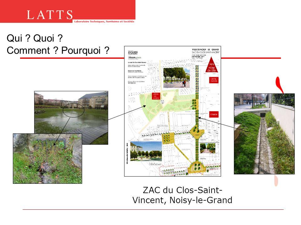 Qui ? Quoi ? Comment ? Pourquoi ? ZAC du Clos-Saint- Vincent, Noisy-le-Grand