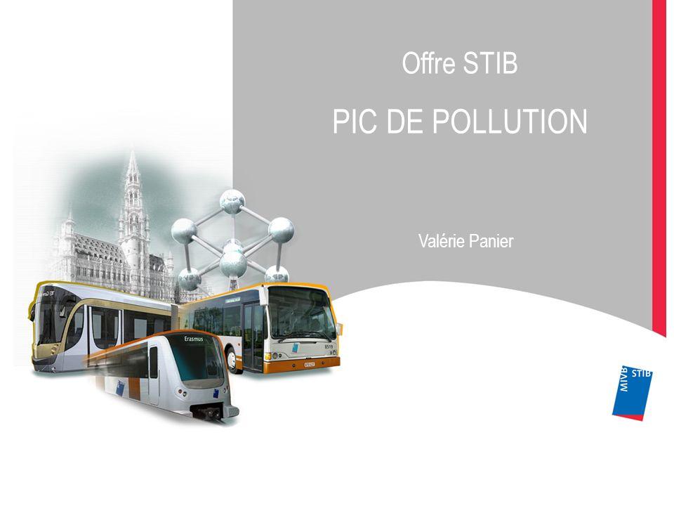Offre STIB PIC DE POLLUTION Valérie Panier