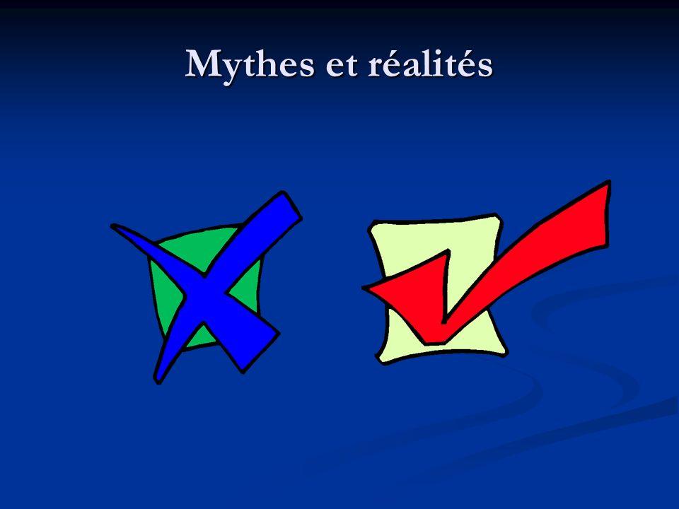 Mythes et réalités