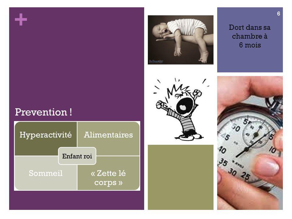 + Prevention ! Dort dans sa chambre à 6 mois 6