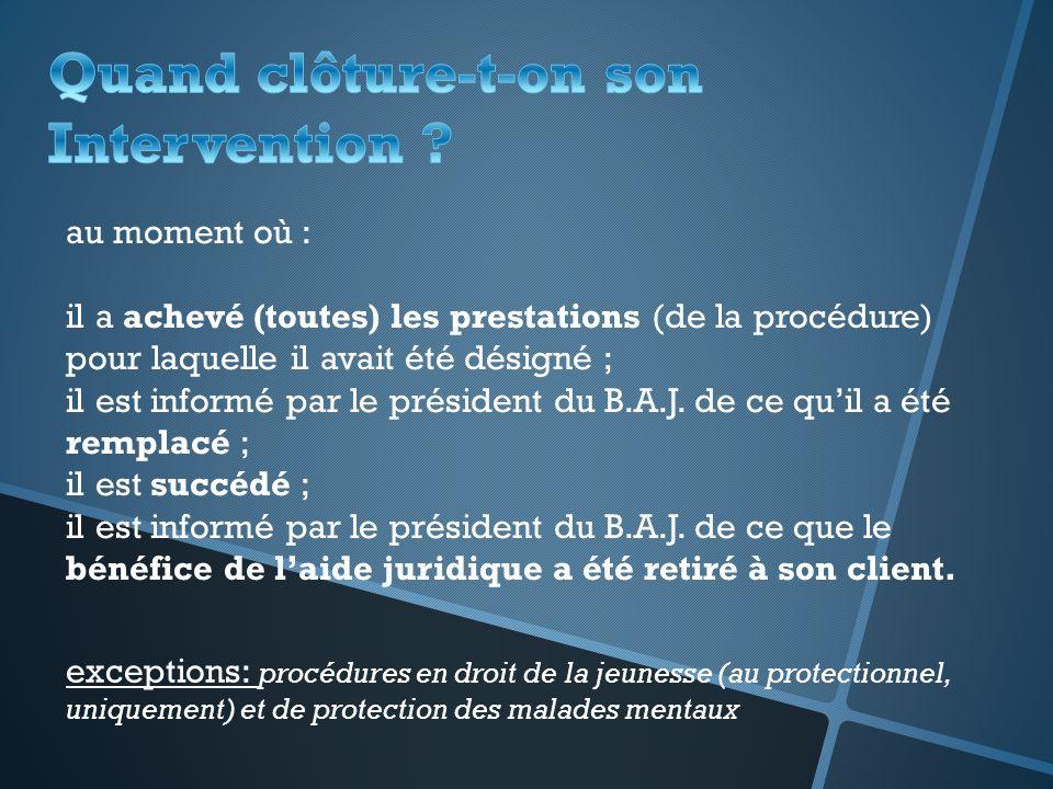 3.1) Rémunération des prestations de lavocat Honoraires: Rappel: Interdiction de demander directement des honoraires au justiciable (art.
