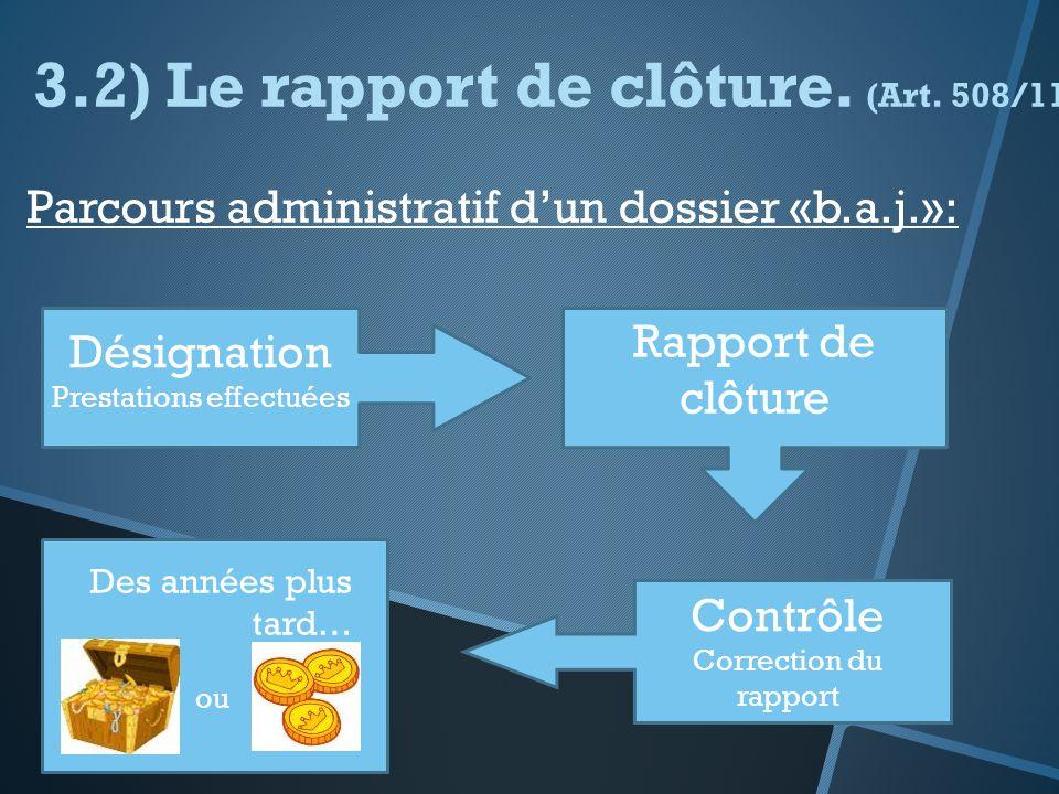 Suivent les trois étapes suivantes : Etape 1 : imprimer le cover fax Etape 2 : imprimer les prestations Etape 3 : proposer la clôture du dossier
